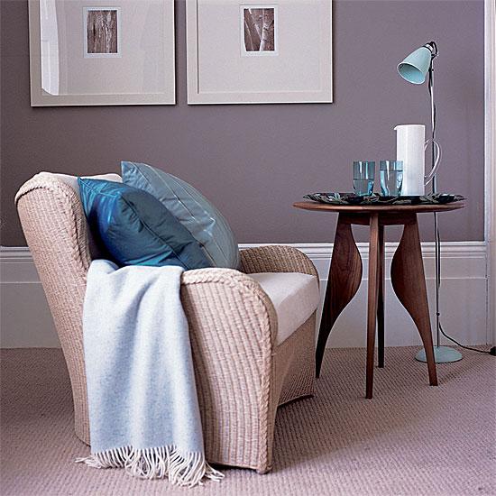 Besoin d 39 aide pour la peinture des murs su salon salle manger for Peinture gris violet