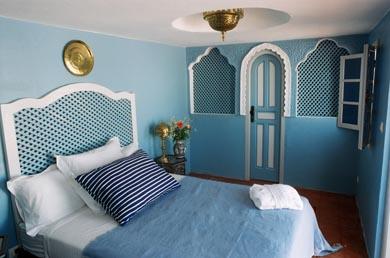 Emejing Chambre Orientale Bleue Images - House Design ...