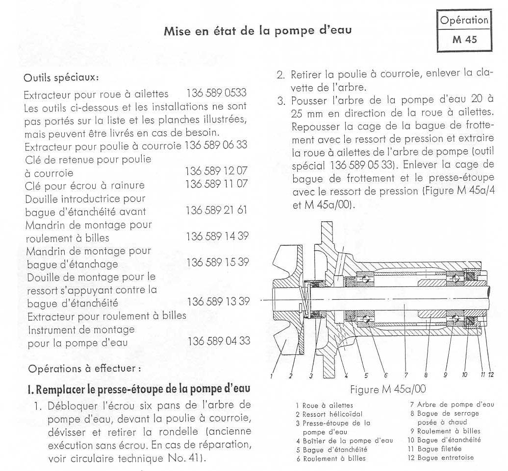 411: problème sur la pompe à eau 09020109103645863089477