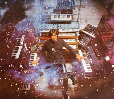 Francis Rimbert à l'époque de Bionic Orchestra