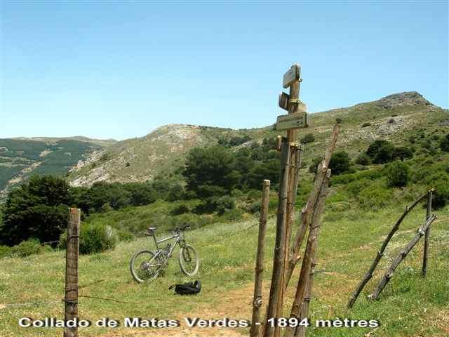 Collado de Matas Verdes - ES-GR- 1894 mètres