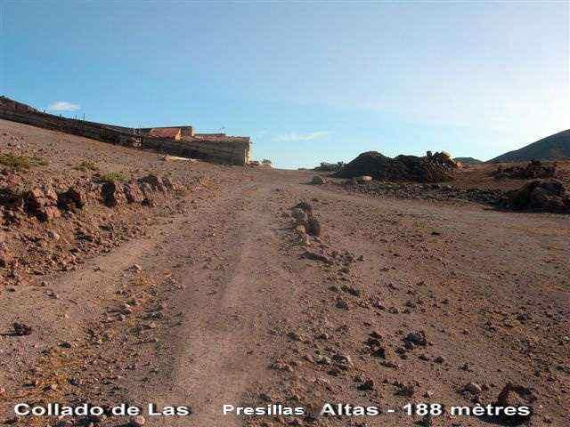 Collado de Las Presillas Altas - ES-AL- 188 mètres