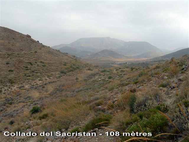Collado del Sacristan - ES-AL- 106 mètres