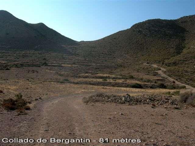 Collado del Bergantin - ES-AL- 81 mètres