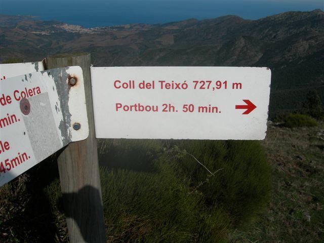 Coll del Teixo - ES-GI-0728 (Panneau)