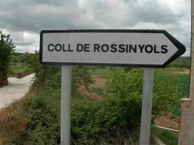 Coll de Rossinyols - ES-T-0965 c (Pancarte directionnelle)