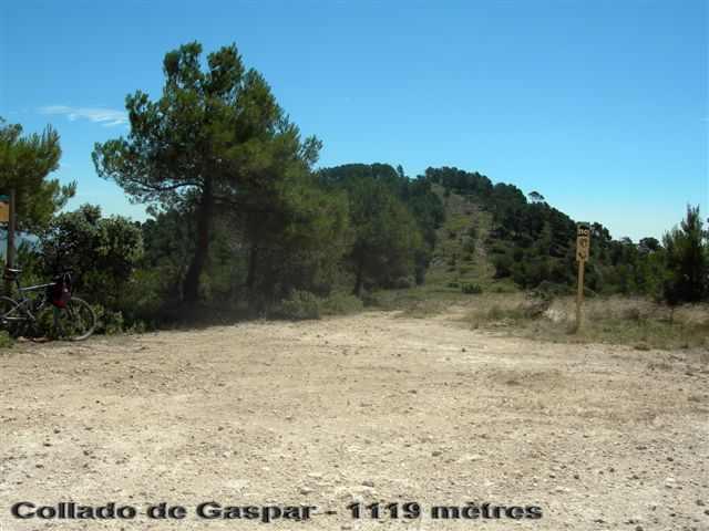Collado de Gaspar - ES-MU- 1119 mètres