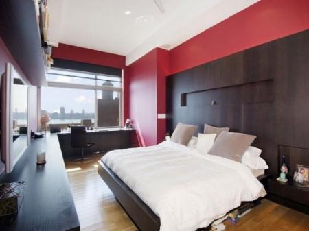 chambre rouge et noir ????