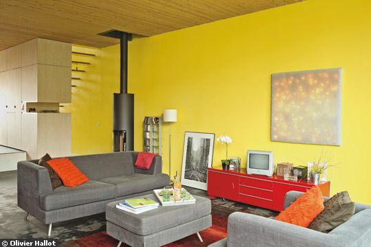 Best Salon Jaune Citron Ideas House Design Marcomilonecom