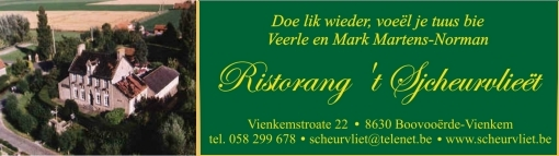 Recente West-Vlaamse opschriften en mededelingen 090228081521440053233258