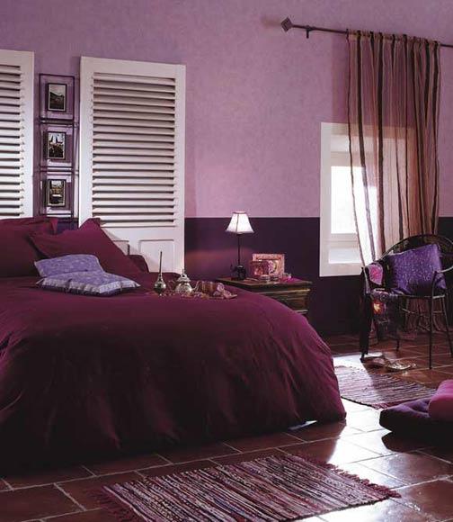Chambre En Mauve. Amazing Ravishing Chambre Mauve Clair Vue Paysage ...