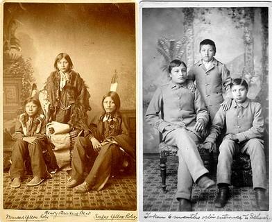 L'assimilation des Autochtones