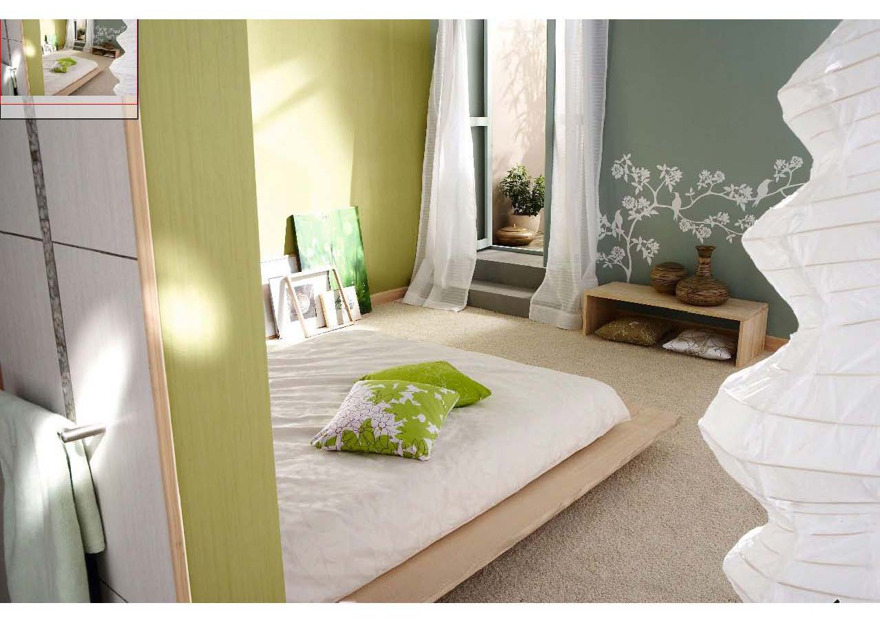 photos ambiance vert taupe gris lin ou. Black Bedroom Furniture Sets. Home Design Ideas