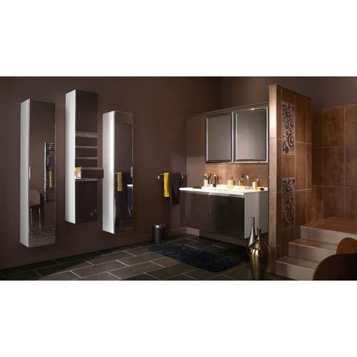 Conseils couleurs salle de bain for Salle de bain carrelage marron