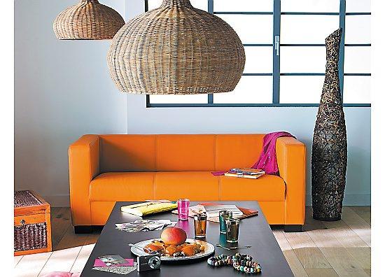 besoin d'aide pour choix couleurs murs salle à manger/salon avec canapé orange 090311085231506173300628