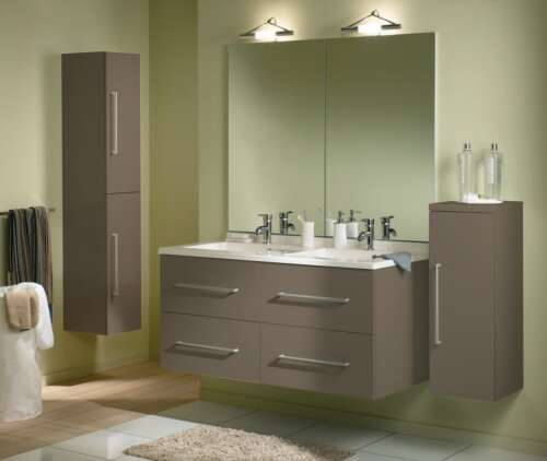 Salle de bain refaire enti rement photo p2 for Salle de bain marron beige