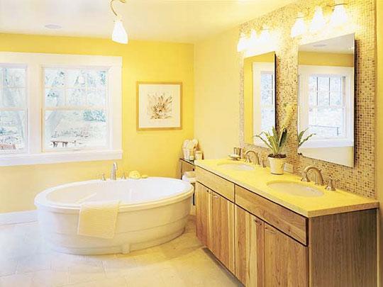 Conseils couleurs salle de bain 090312063756506173304536