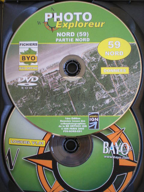 Nog beter dan Google Earth : de DVD ROM van de IGN 090316102746440053327399