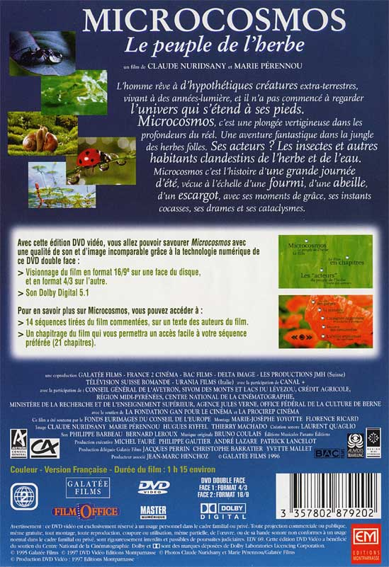 Microcosmos, le peuple de l herbe preview 2