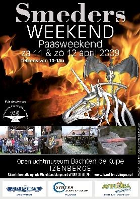 Smedersweekend in 't Openluchtmuseum te Izenberge 090318084112598673332550