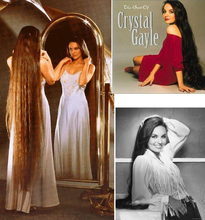 Crystal Gayle : Don't it make my brown eyes blue 090328032156621173387030