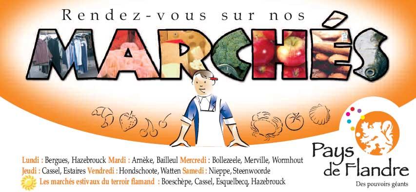 """De markten van de """"Pays de Flandre"""" 090422030056440053527508"""