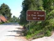 Alt de la Creu Aregall - ES-B- 537 mètres