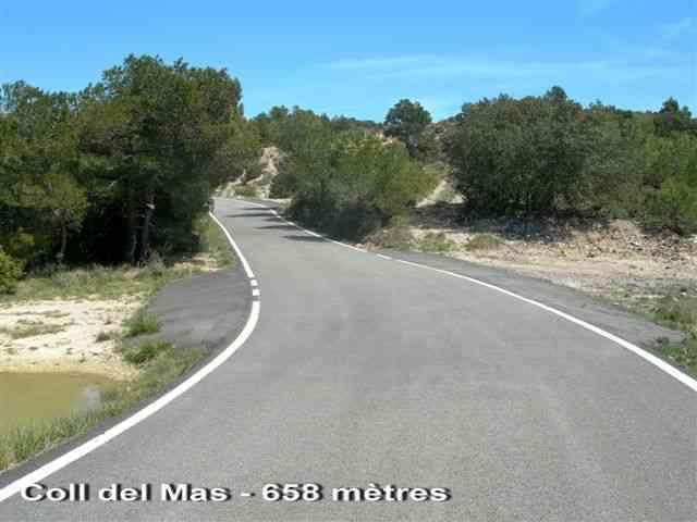 Coll del Mas - ES-T- 658 mètres