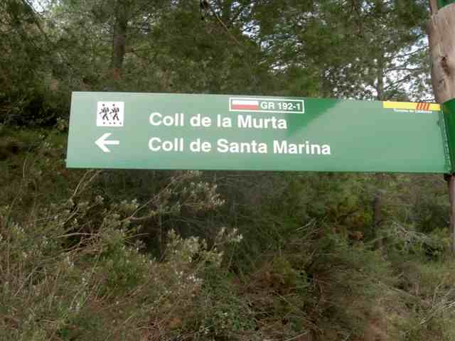 Coll de la Murta - ES-T- 352 mètres