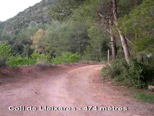 Coll de Lleixares - ES-T- 474 mètres