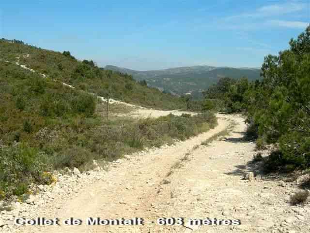 Collet del Montalt - ES-T- 606 mètres