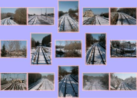 carte  train - carte train neige 01