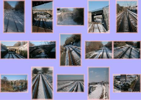 carte  train - carte train neige 02