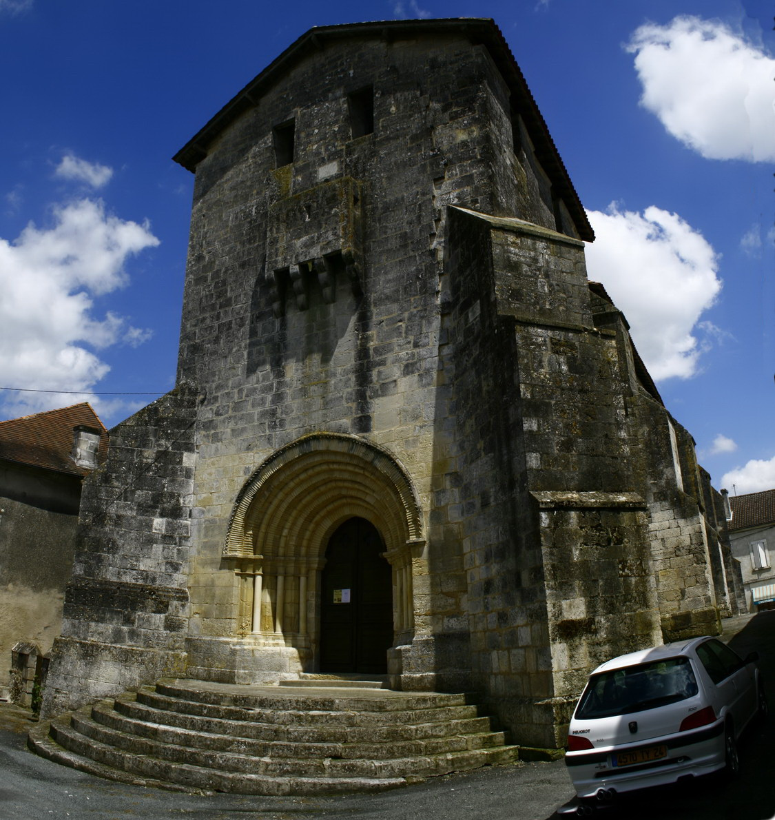 viree08 ECT - f Champagne F eglise fortifié