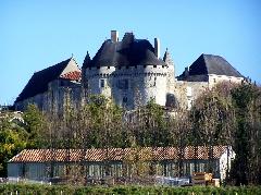viree08 ECT - a Barbezieux 16 chateau 7372