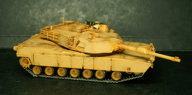 [Revell] Abrams M1A2 1/72 090504100132657403600991