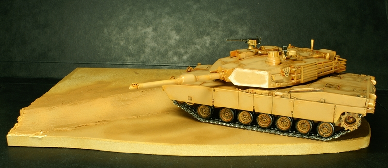 [Revell] Abrams M1A2 1/72 090504100133657403600996