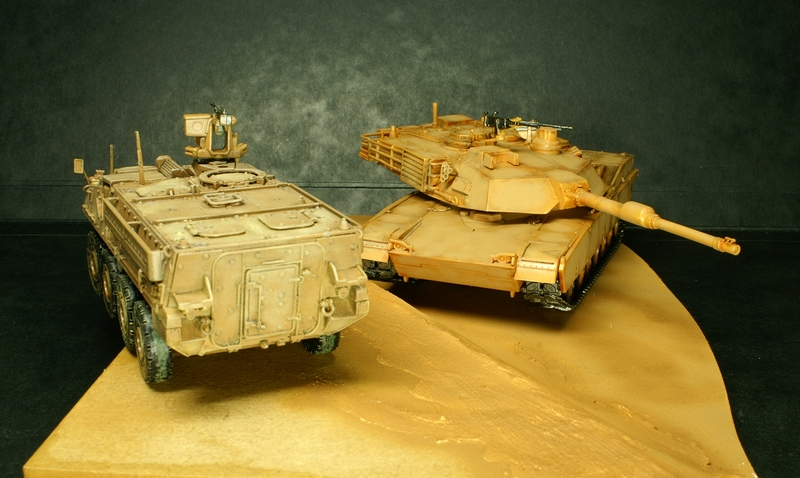 [Revell] Abrams M1A2 1/72 090504100133657403600998