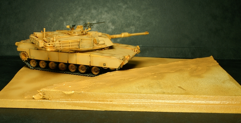 [Revell] Abrams M1A2 1/72 090504100133657403600999