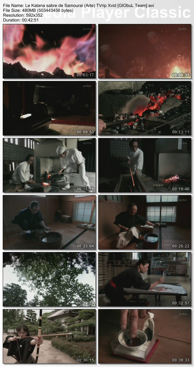 Le Katana sabre de Samourai (Docu Arte) TVrip Xvid [GlObuL Team] up Samourai preview 3
