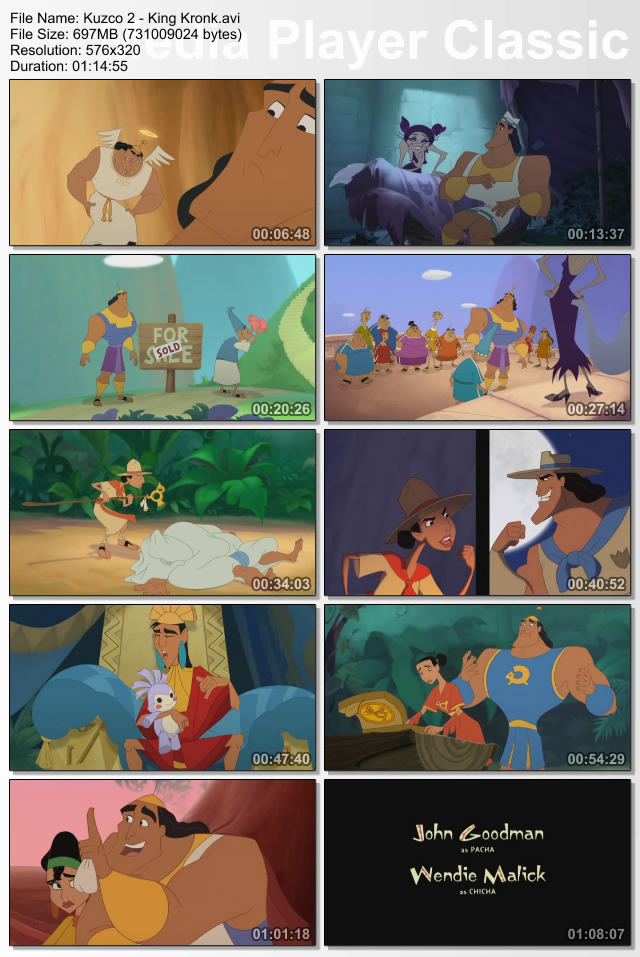 Walt Disney Kuzco 2 : King Kronk French DVDRIP up samourai preview 4