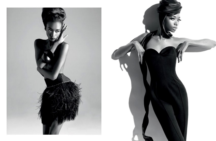 black supermodel : georgie badiel
