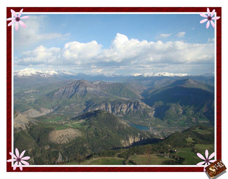 Vue du Mt Colombis © V-RO