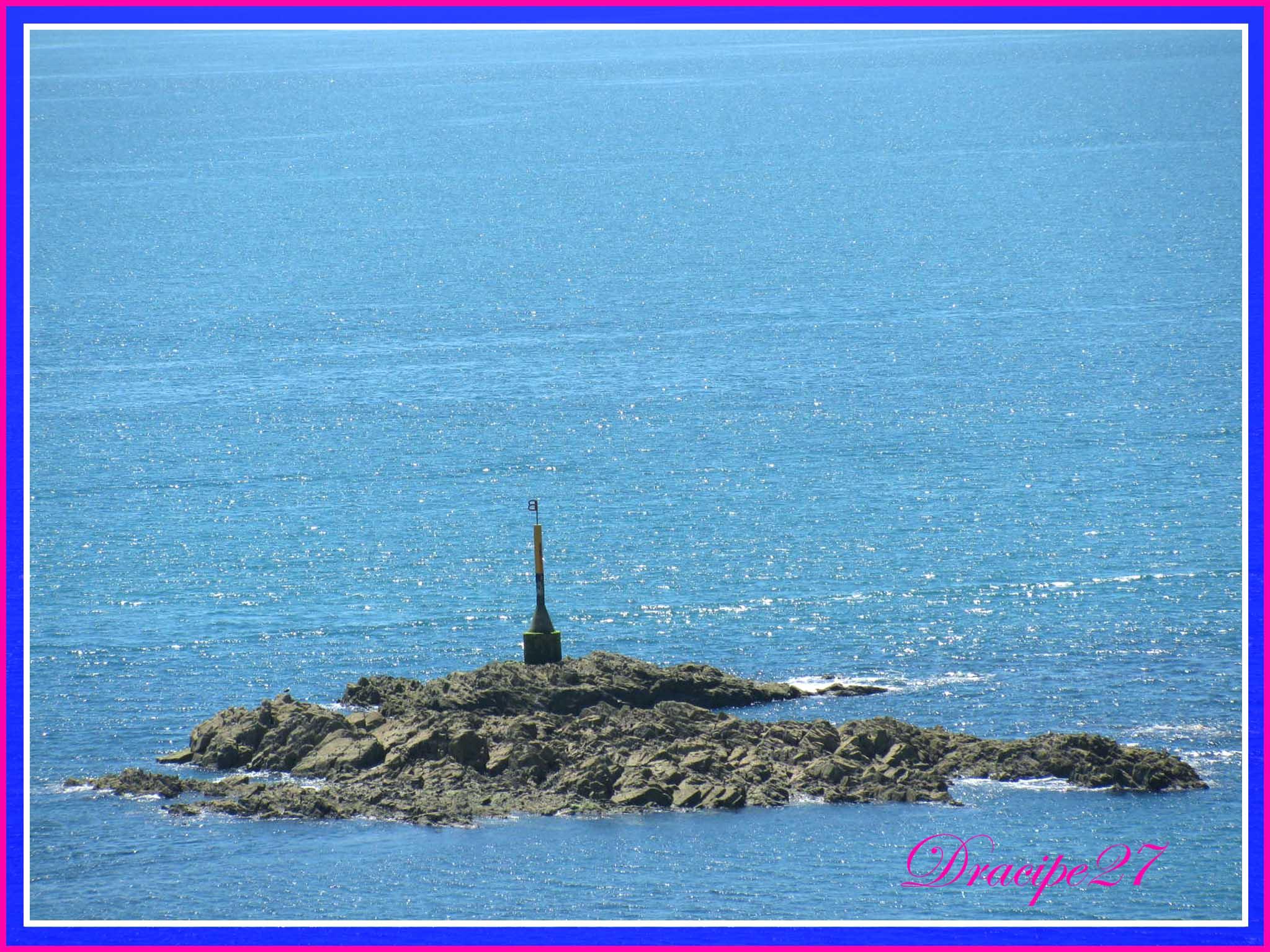 La mer,le bleu........