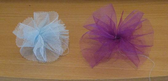 090531010620584453775618 - Noeud Pour Voiture Mariage Tulle