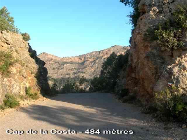 Cap de la Costa - ES-T- 484 mètres