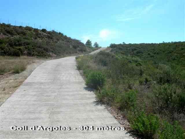 Coll d'Argoles - ES-T- 304 mètres
