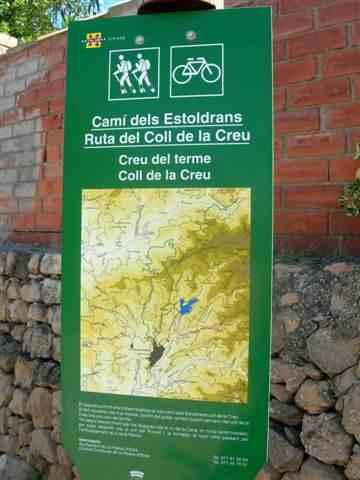 Stationnement à La Palma d'Ebre