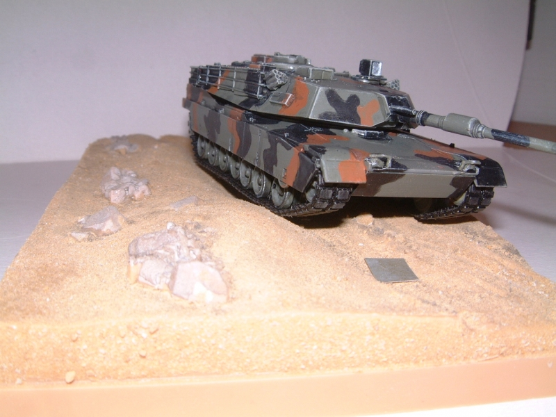 M1A1 with mine plough (1/72 DRAGON) 090621100909588623921333