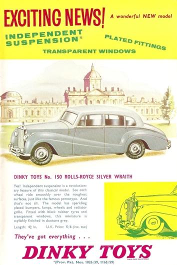 La première Dinky-Toys avec suspension !